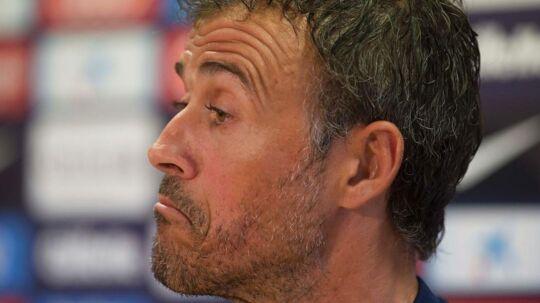Luis Enrique har haft en skuffende sidste sæson i Barcelona.