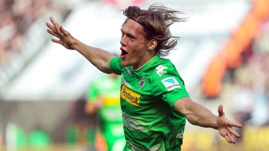 Jannik Vestergaard har spillet samtlige 34 kampe og scoret fire mål i Bundesligaen for Gladbach i denne sæson.