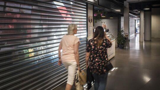 En del butiksejere har rullet skodderne ned efter en svær start i WestMarket.