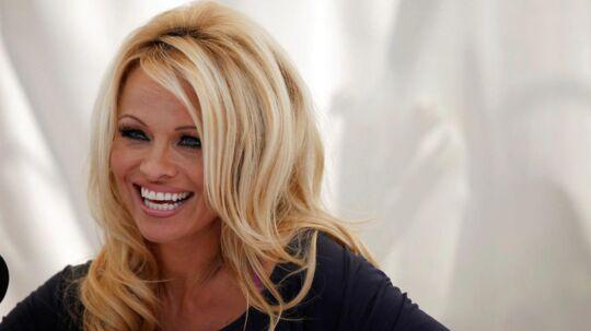 Skuespillerinden Pamela Anderson som vi kender hende bedst. Foto: REUTERS/Mario Anzuoni/File Photo