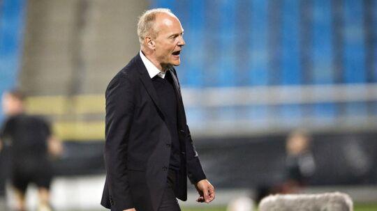 Niels Frederiksen (bill.) har sagt nej til A-landsholdsspillerne Viktor Fischer og Pierre-Emile Højbjerg som deltagere ved EM for U21-landshold i Polen i næste måned.