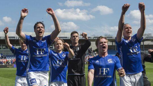 Lyngby Boldkluib risikerer ikke at få licens til den kommende Superliga-sæson, selvom klubben på banen har gjort det over al forventning.