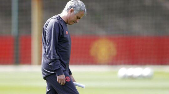 José Mourinho og Manchester United aflyser pressemødet før Europa League-finalen onsdag på grund af angrebet i Manchester.