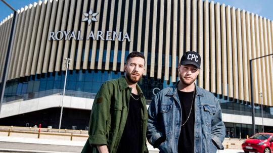 Nik & Jay skal spille koncert i Royal Arena.