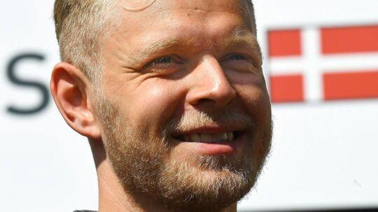 Kevin Magnussen var hurtigste Haas-kører torsdag.
