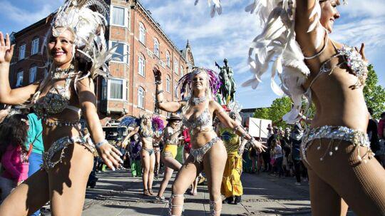 Aalborg Karneval, arkivfoto.