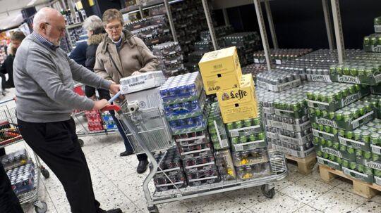 Det er sådan, vi danskere kender Fleggaard, men nu går folkene bag grænsehandelsbutikken ind på et helt andet marked. Arkivfoto.