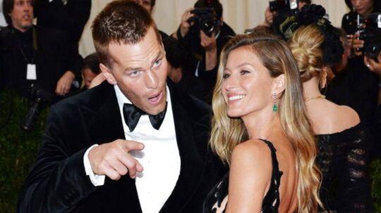 NFL-stjernen Tom Brady står i noget af et dilemma, efter at hans kone, supermodellen Gisele Bündchen, kom til at fortælle, at hendes mand spillede med en hjernerystelse sidste år.