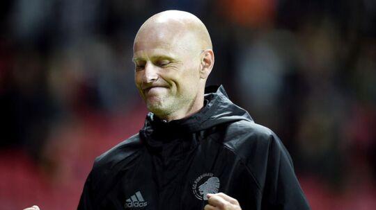 Ståle Solbakken: »Det, jeg kan sige, er, at jeg kommer til at træne FC København næste år.«