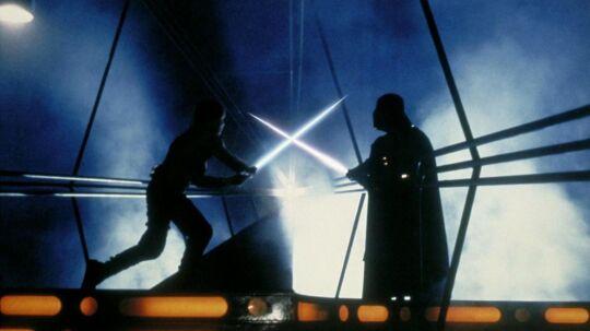 Dette billede stammer dog fra filmen 'Empire Strikes Back'.