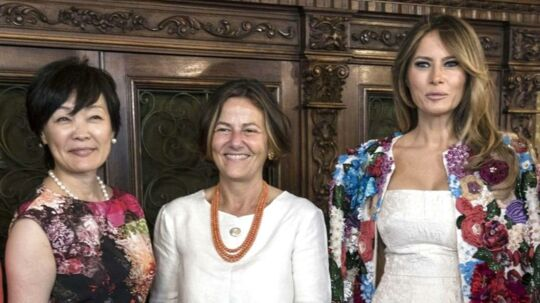 Melania Trump til G7 Møde.