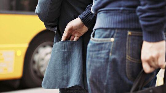 Især i København og Aarhus har de oplevet en stigning i antallet af lomme- og tasketyverier. (Foto: arkiv)