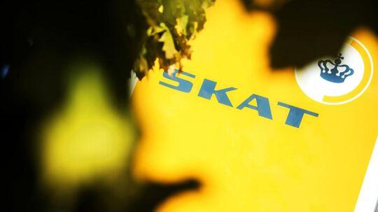 ARKIVFOTO 2014 af SKAT- - Se RB 27/5 2017 13.52. To personer er blevet varetægtsfængslet i en sag om svindel med udbytteskat til en samlet værdi af 37, 5 millioner kroner, oplyser Bagmandspolitiet.. (Foto: ERIK REFNER/Scanpix 2017)