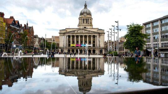 På billedet: Nottingham i England.