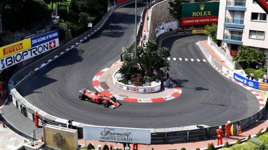 I denne weekend er der grandprix i Monaco, her er det VMs førende kører, Sebastian Vettel på vej rundt.