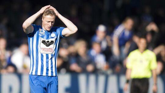 Mads Hvilsom og Esbjerg må se i øjnene, at den står på 1. division til næste sæson.