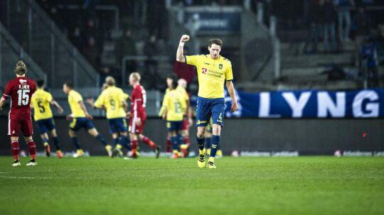 Brøndby Stadion er kåret til Superligaens bedste bane at spille på.