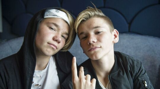 Marcus og Martinus fotograferet i Tivoli Kongress Center torsdag den 18. august 2016.