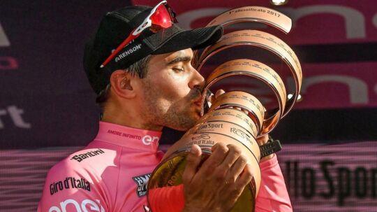 Opmærksomheden kan godt blive for meget for dette års Giro d'Italia-vinder, Tom Dumoulin, der ikke ønsker at blive modtaget af journalister, når han vender hjem til sit hus i Belgien.