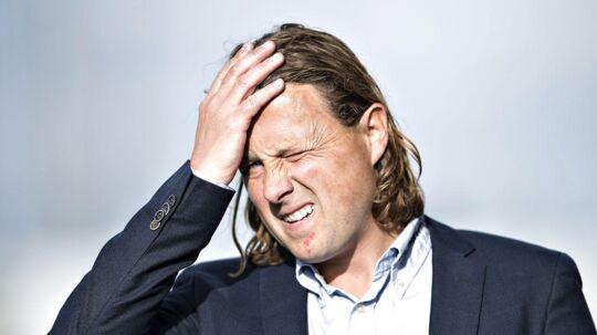 Bo Henriksen fik ikke det ønskede resultat mod Vendsyssel, men ser gode muligheder for at blive i Superligaen.