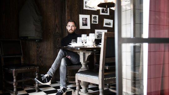 Mikkel Borg Bjergsø, manden bag Mikkelller. Fotograferet på Warpigs i Kødbyen.
