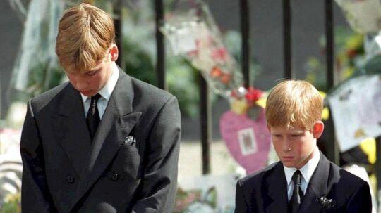 Billederne af de to sørgende prinser til deres mors begravelse gik verden rundt. I dag fortæller prins William og prins Harry, at de følte, at de havde svigtet deres mor, og at de nu vil gøre, hvad de kan for at forsvare hendes minde.