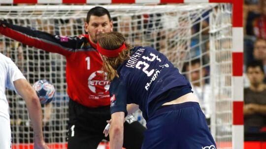 Mikkel Hansen og Paris Saint-Germain tabte med et enkelt mål til Vardar i Champions League-finalen.