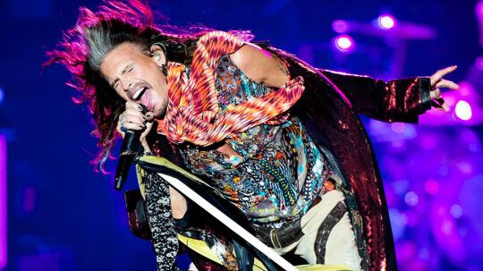 Aerosmith med Steven Tyler i front gav mandag aften koncert i Royal Arena i Ørestaden.. (Foto: Nils Meilvang/Scanpix 2017)