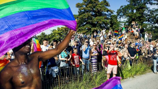 Arkivfoto af Copenhagen Pride 2016 - Danmarks største festival for homoseksuelle, biseksuelle og transpersoner (LGBT)