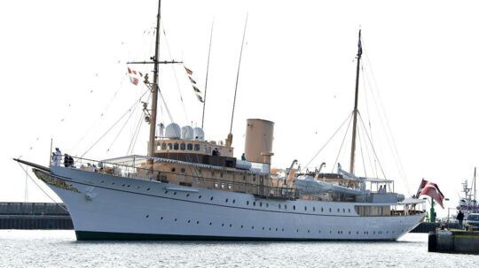 Regentparret har brugt de sidste dage i svensk farvand. Arkivfoto
