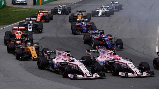 Force India har gjor det godt i år.