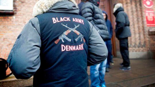 Black Army ved Retten i Odense. Arkivfoto: Yilmaz Polat