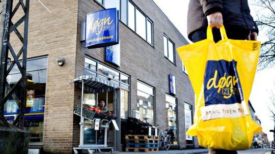 Netto vil runde 500 butikker i Danmark, inden året er omme. Arkivfoto