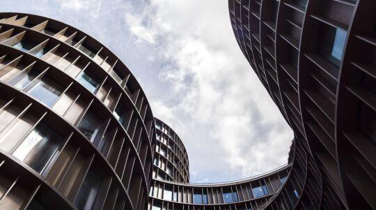 Axel Towers i centrum af København .