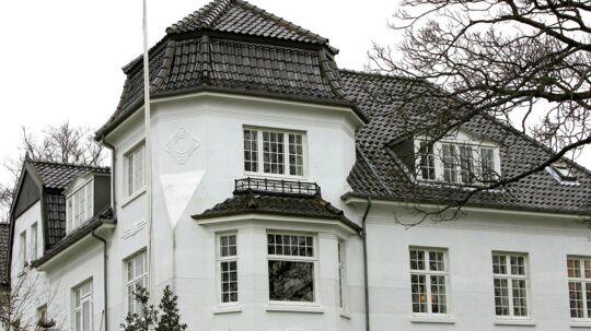 Villa på Dalgas Avenue 46 i Århus.