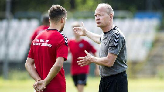 Niels Frederiksen vil vinde den sidste kamp ved U21-EM, og det lover han, at alle spillerne også vil.