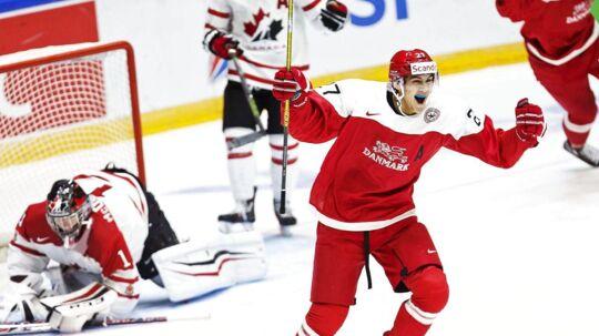 Jonas Røndbjerg skal i den kommende sæson tørne ud for Vegas Golden Knights.