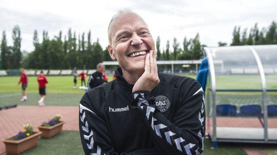 Niels Frederiksen skifter ud inden Danmarks sidste kamp ved EM for U21-landshold.