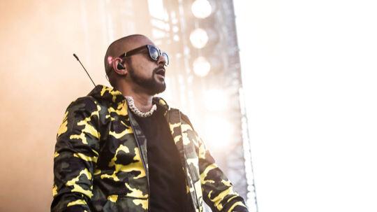 Sean Paul holdt fest på Blue Stage foran et festglad publikum lørdag eftermiddag på Tinderbox. Lørdag d. 24. juni 2017.