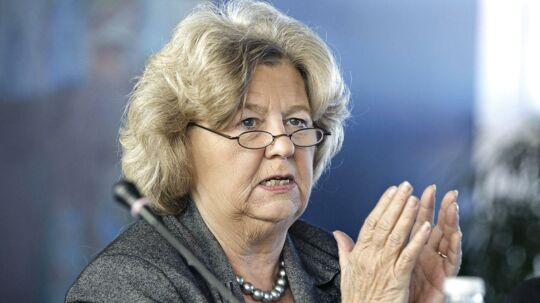 ARKIVFOTO 2010 af tidligere integrationsminister Birthe Rønn Hornbech.