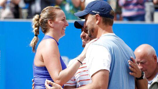 Petra Kvitova vandt turneringen i Birmingham - og melder sig ind i favoritfeltet til Wimbledon.