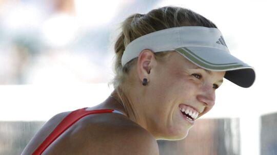 Caroline Wozniacki stiller op til ESPNs Body Issue.