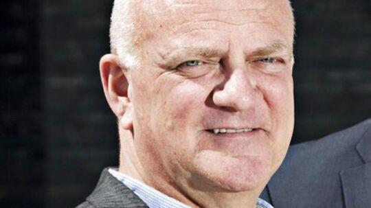 Flemming Toft havde flere opgaver undervejsi EM-semifinalen mod Holland i 1992.
