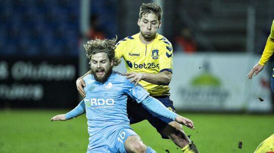 Mandag præsenterede Brøndby Kasper Fisker som ny spiller i klubben.