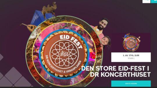 DR inviterer til gratis Eid-fest.