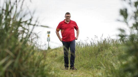 Tom Johansen fra Malling ved Aarhus har været så hårdt ramt af arbejdsrelateret stress og angst, at det har taget ham tre år at komme tilbage til en tilværelse, hvor han kan passe et job.