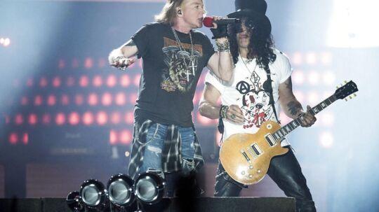 Koncertbilleder fra Guns N Roses koncert i Telia Parken d.27 Juni 2017.