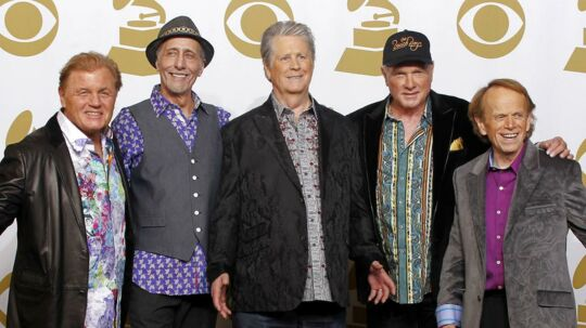 Beach Boys - med Brian Wilson i midten.