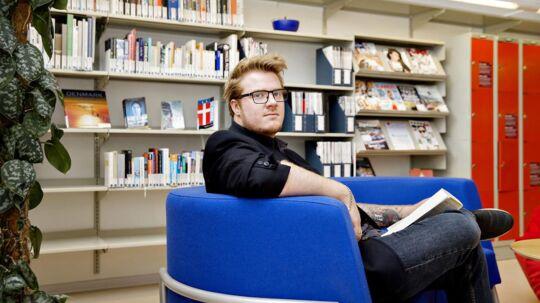 Jesper Kjær Nygaard er netop færdig med fjerde semester på jura på Syddansk Universitet. Efter sommerferien skal han vælge emne til sin bacheloropgave, som han går i gang med på sjette semester. Foto