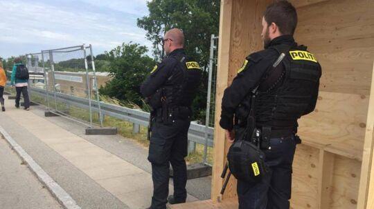 Politiet har øget sikkerheden ved dette års Roskilde Festival.